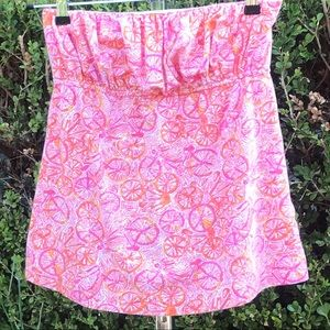 Lilly Pulitzer Tube Top Shirt Size S